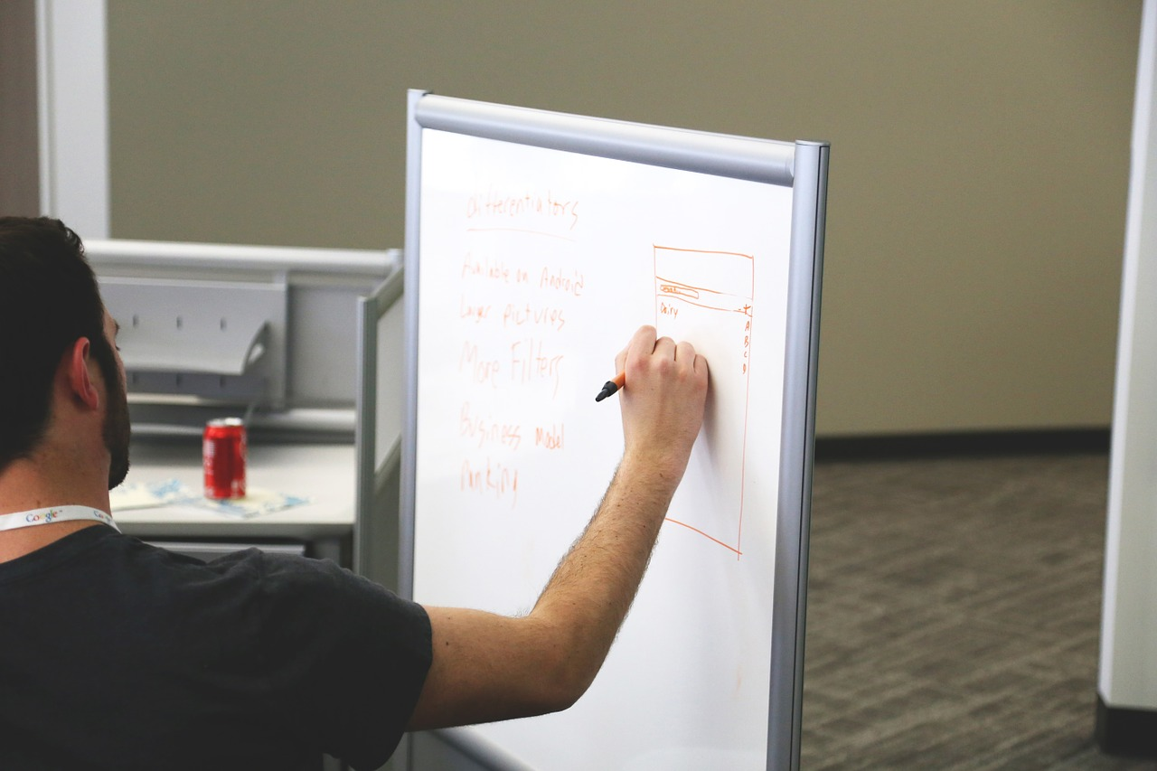 white board, startup, start-up